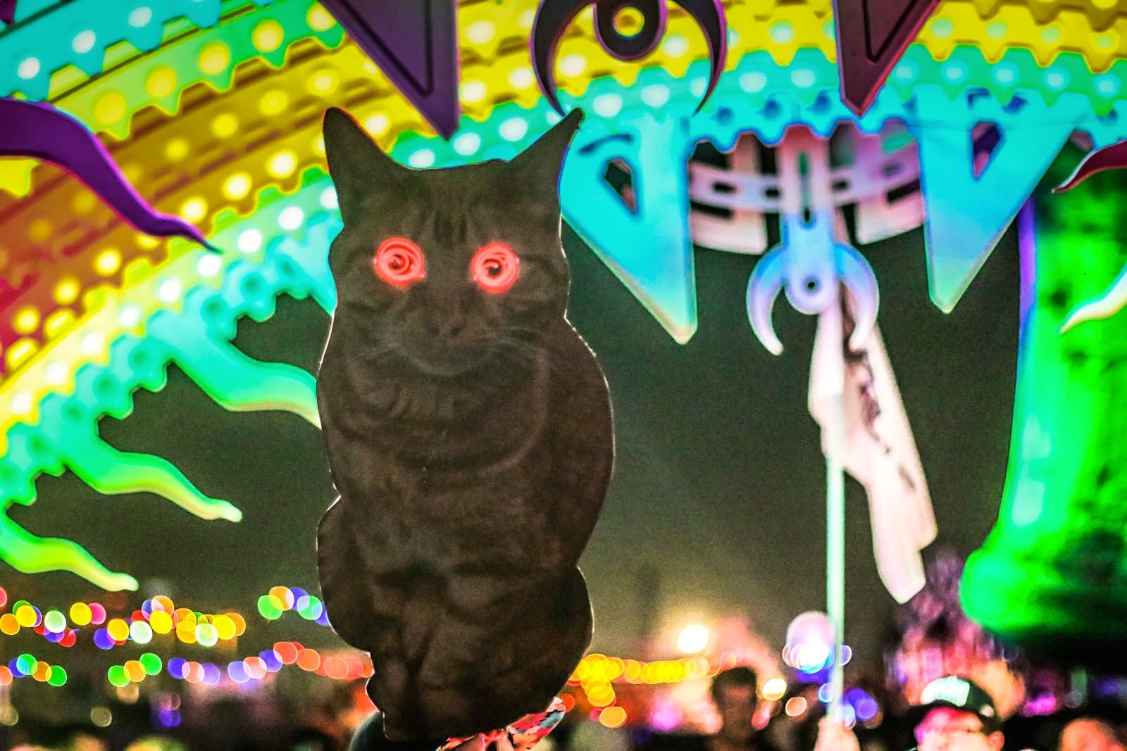 Electric Daisy Carnival 2014 Art Gimbel Totems 15