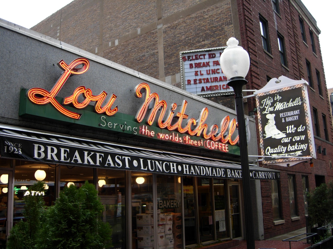 Lou Mitchells Chicago