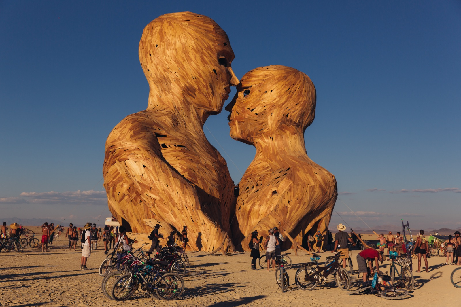 Burning Man 2014 Galen Oakes Embrace 1