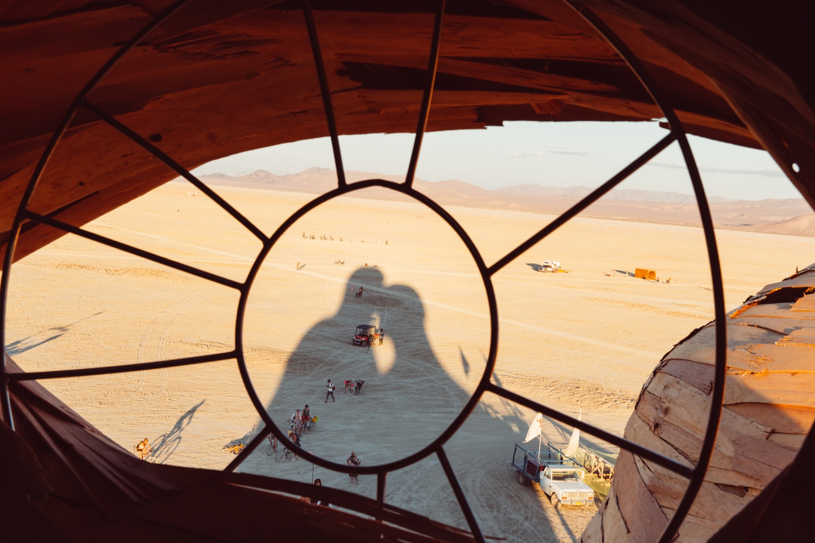 Burning Man 2014 Galen Oakes Embrace 3