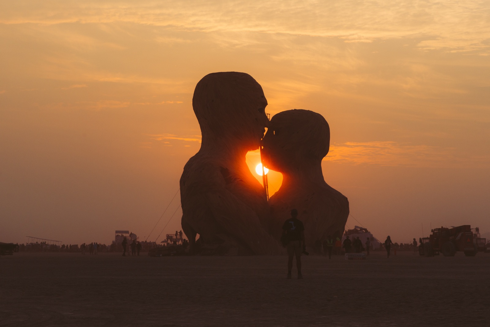 Burning Man 2014 Galen Oakes Embrace 9