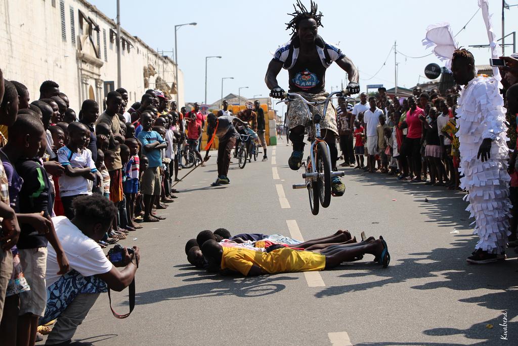 Chale Wote Street Art Festival Kwabena Akuamoah Boateng Cc