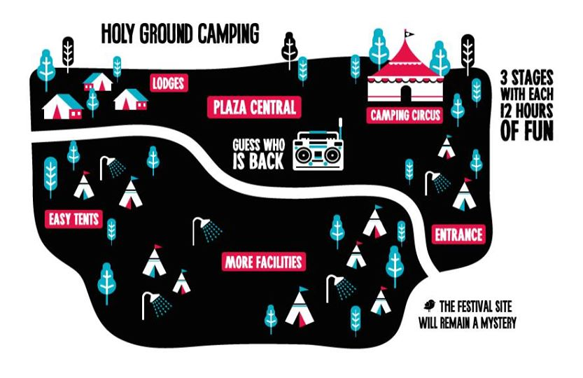 Mysteryland Camping
