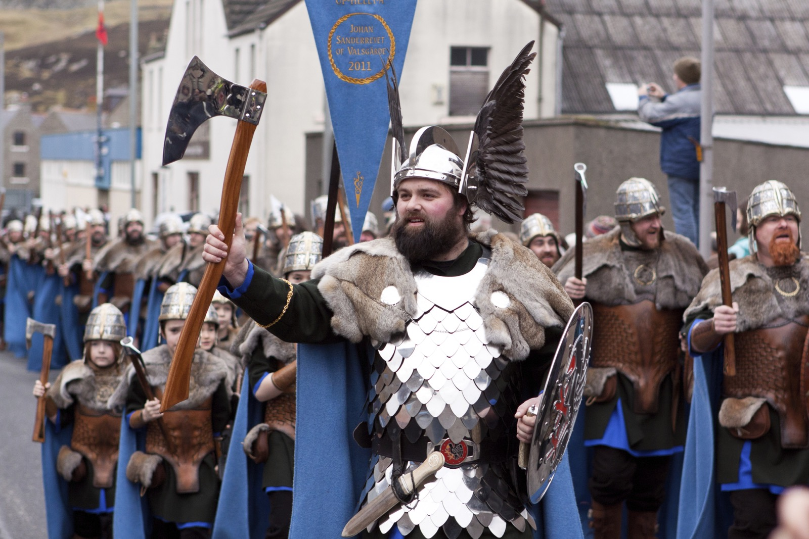 Up Helly Aa Andrew Shearer 14