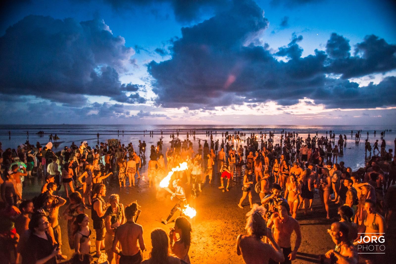 Envision Festival 2015 Andrew Jorgensen Beach Ceremony   12