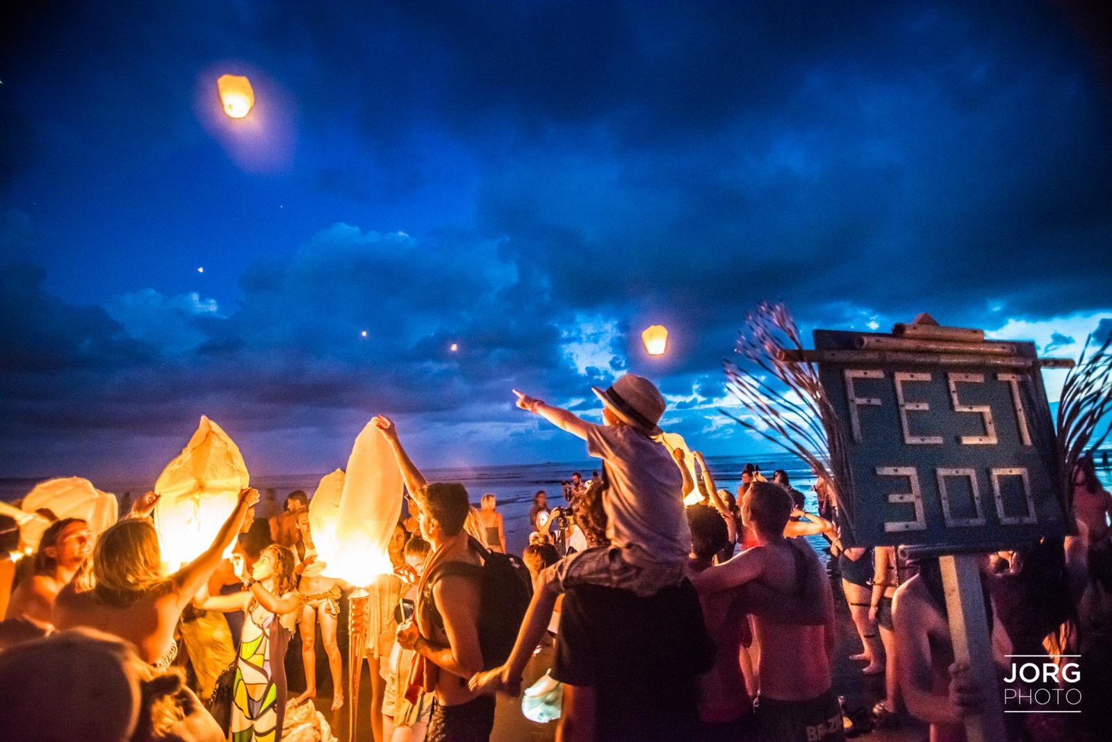 Envision Festival 2015 Andrew Jorgensen Beach Ceremony   16