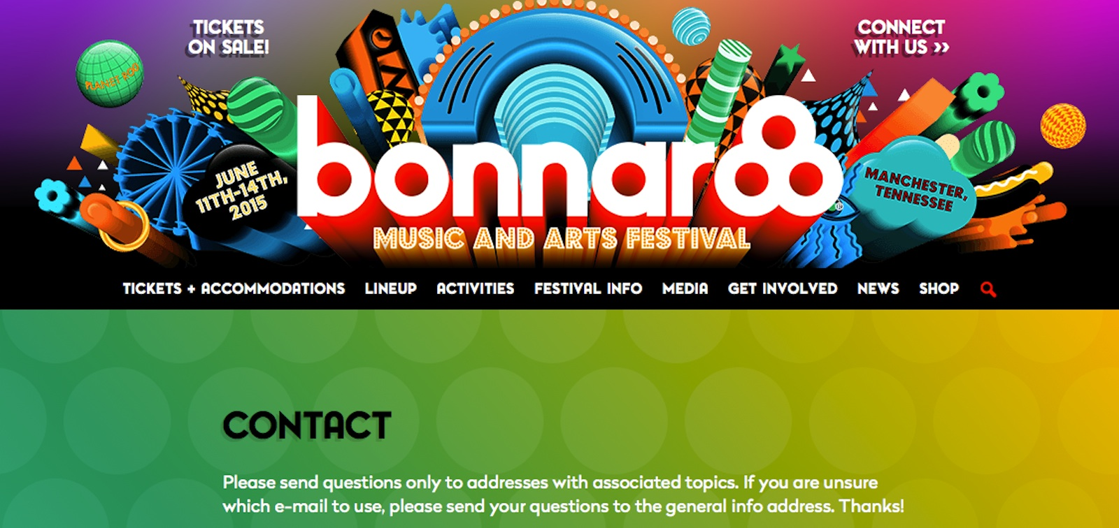 Bonnaroocontact Copy