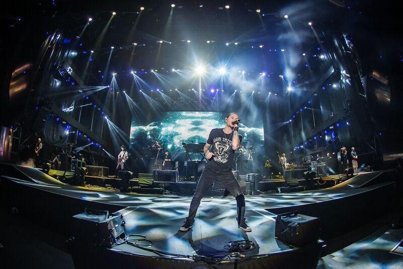 Rock In Rio Las Vegas 2015 Chester Bennington