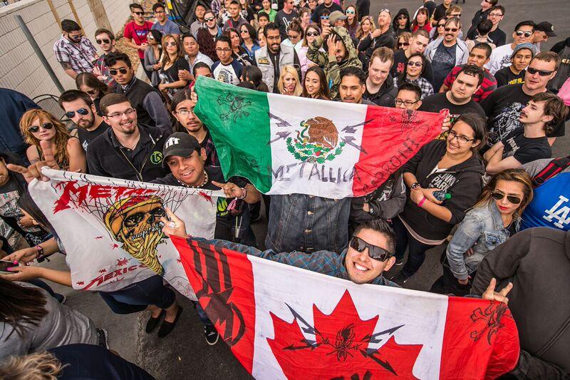 Rock In Rio Las Vegas 2015 Metallica Fans