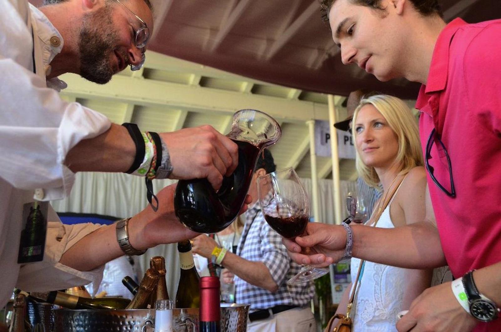 Bottlerock Napa Wine Drinking 2015