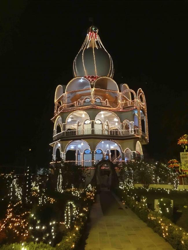 My welcome ashram