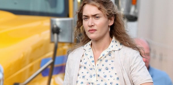 "Kate Winslet on the set of ""Labor Day"""
