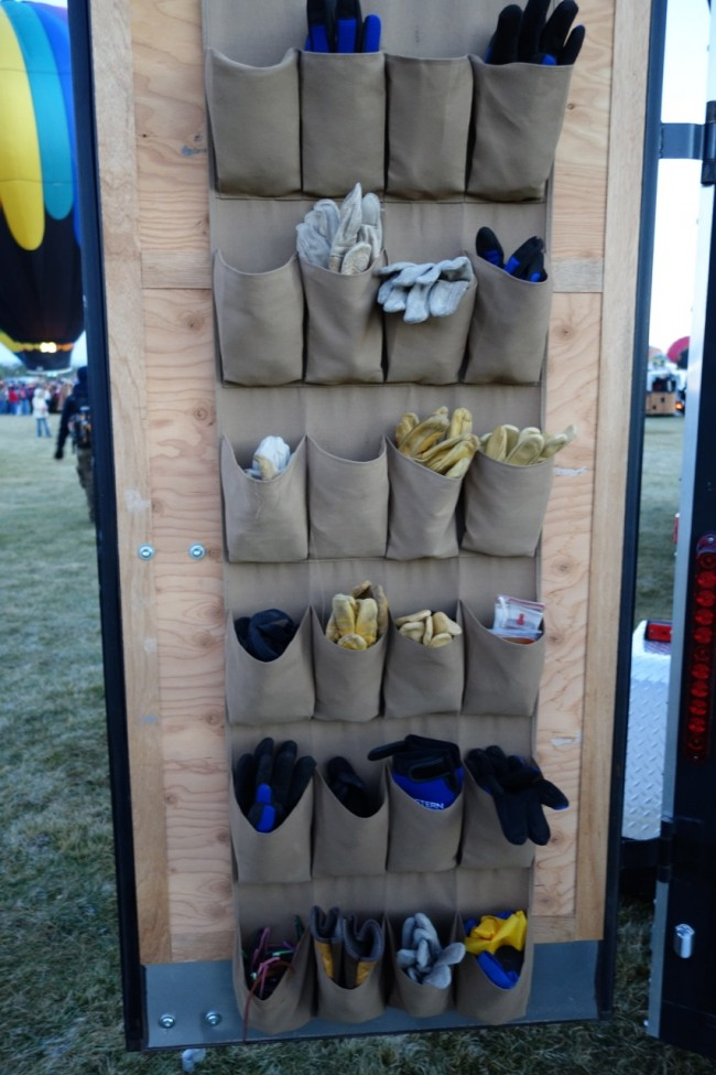 My ballooning partners had multiple choices of mittens as this can be a cold weather sport