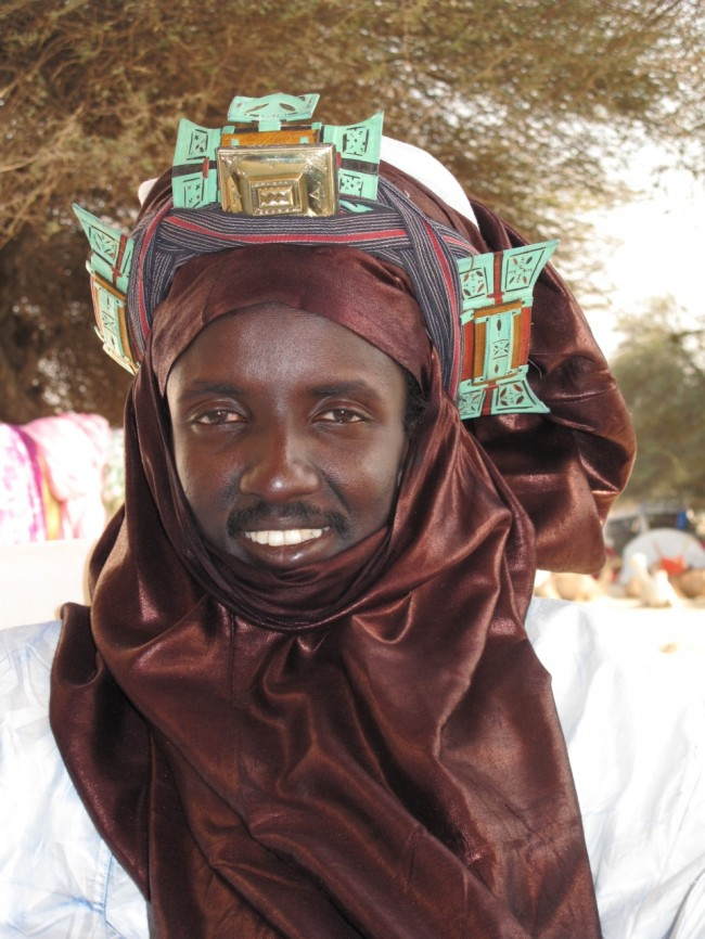 Abu, a member of the Grio cast