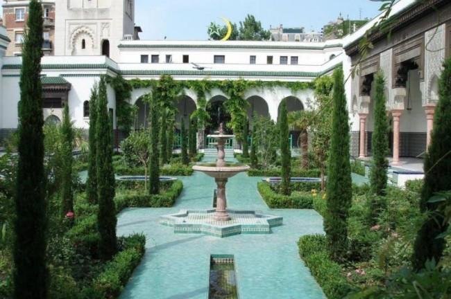 Hammam at Mosque de Paris