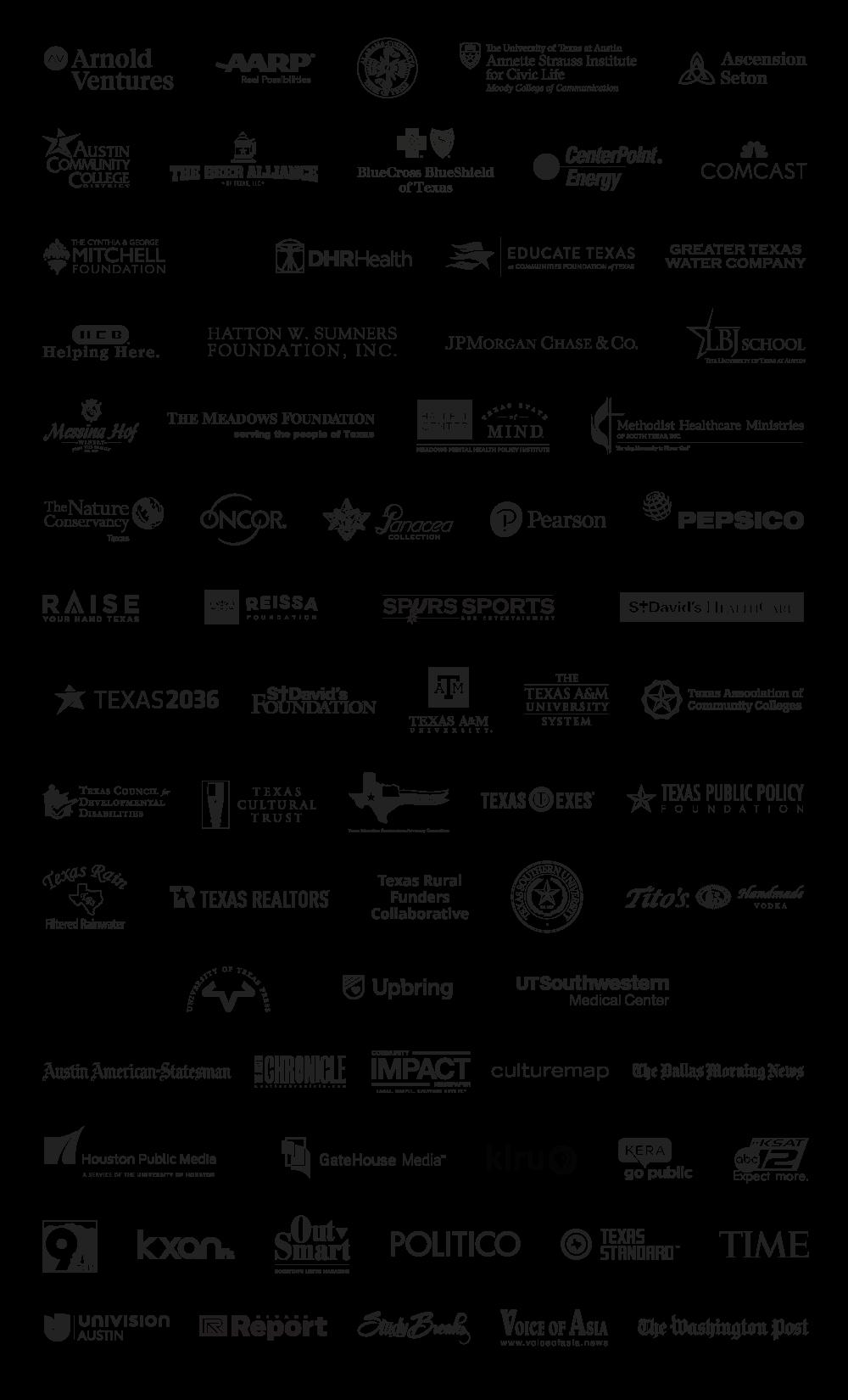2019 Texas Tribune Festival Sponsors