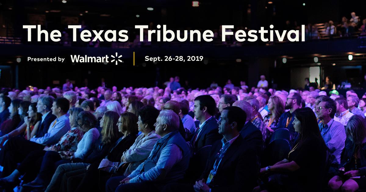 Schedule | The 2019 Texas Tribune Festival