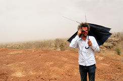 Crackle of Time - Christoph Schlingensief and his Opera Village in Burkina Faso