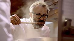 Massimo Bottura: teatro da vida