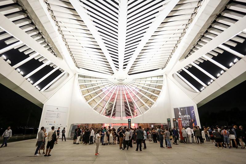 Museu do Amanhã: portas abertas para o Festiva do Rio
