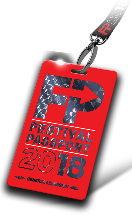 Festival Passport General Admission badge