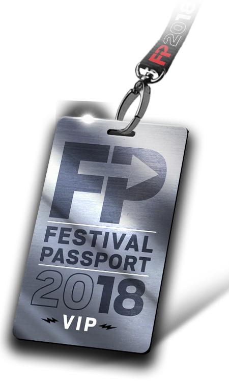 Festival Passport VIP badge
