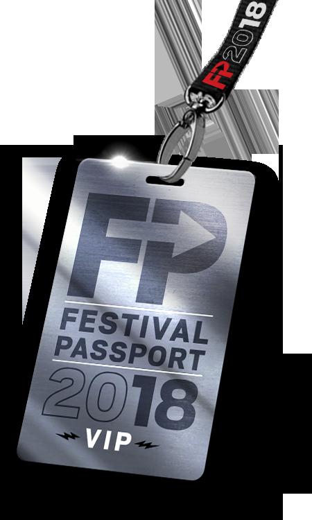 Festival Passport VIP badge