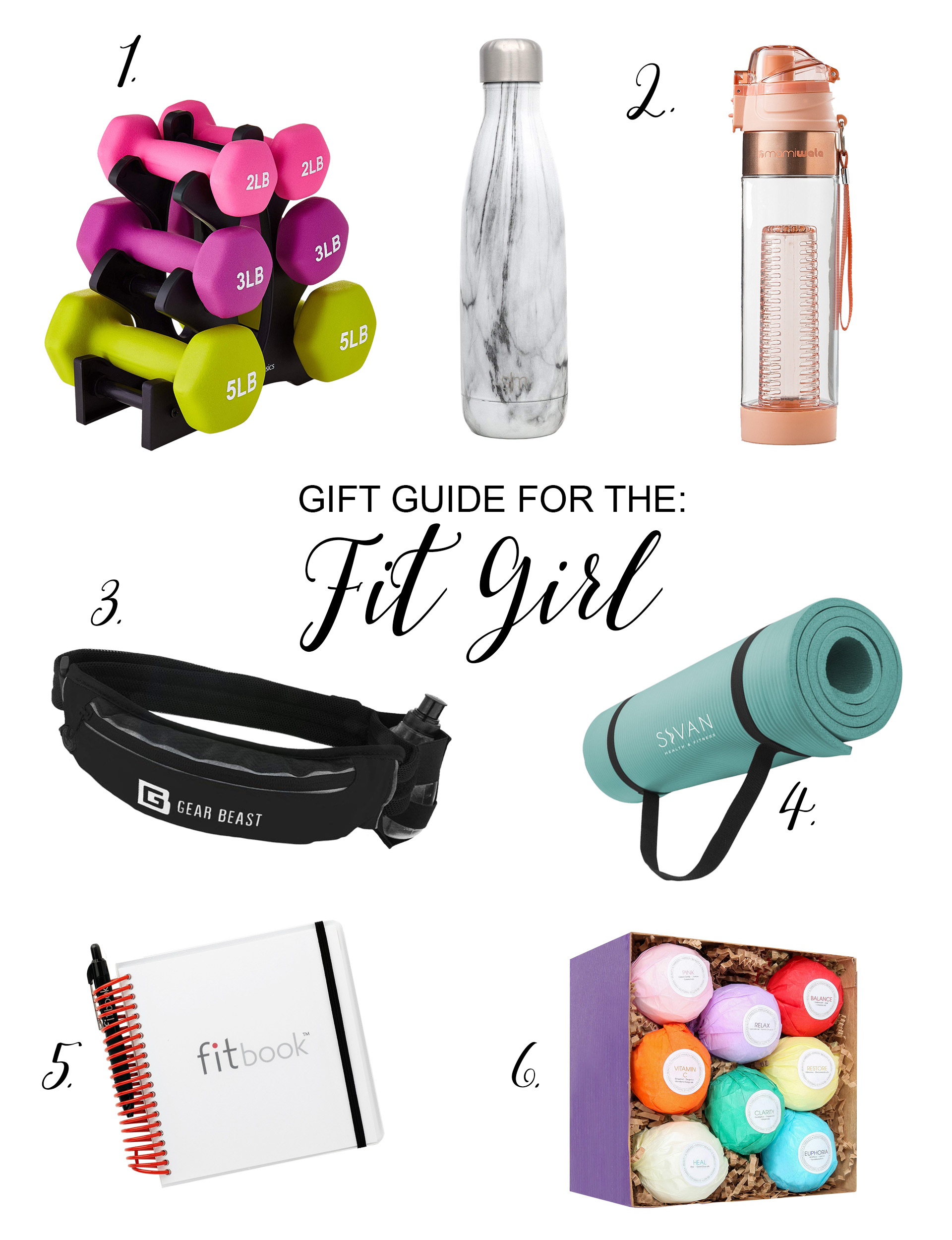 Gift Guide For The Fit Girl