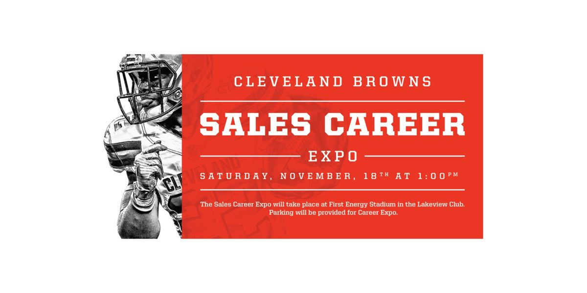 Cleveland Browns Sales Career Expo