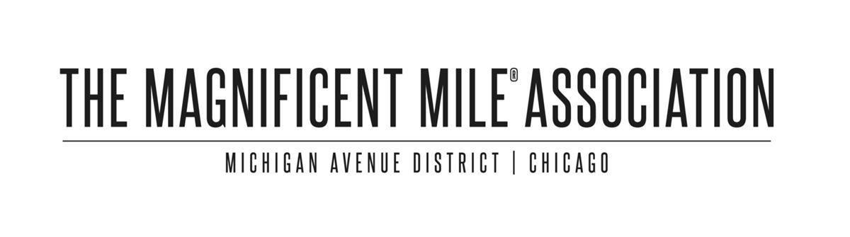 magnificent  mile association logo