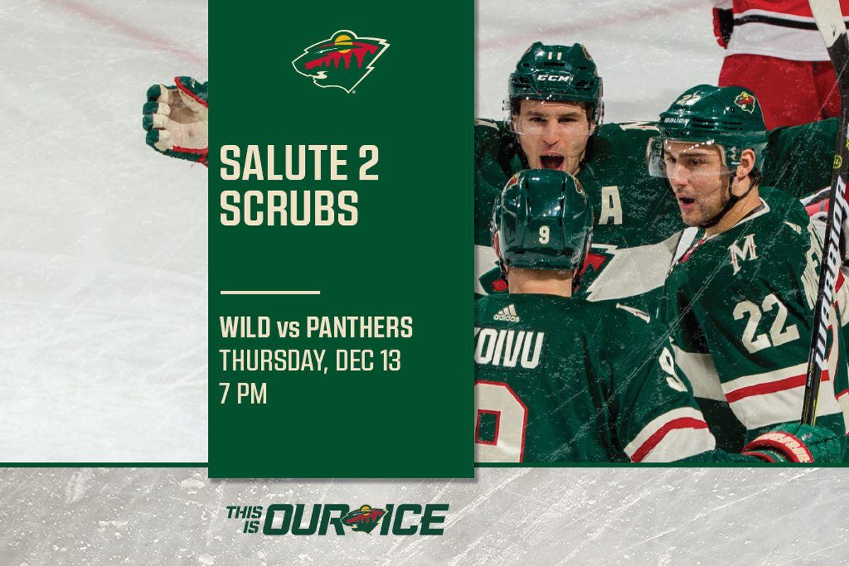 c89cf4db869 Salute 2 Scrubs | Wild vs. Panthers