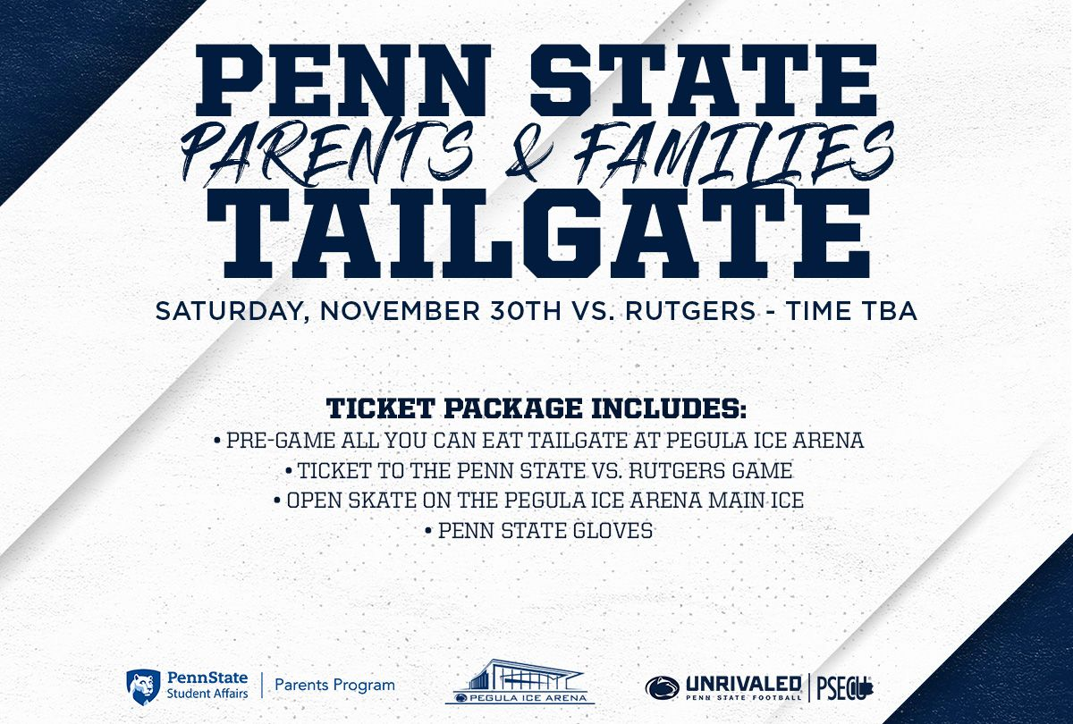 Penn State Football Parents & Families Day vs. Rutgers