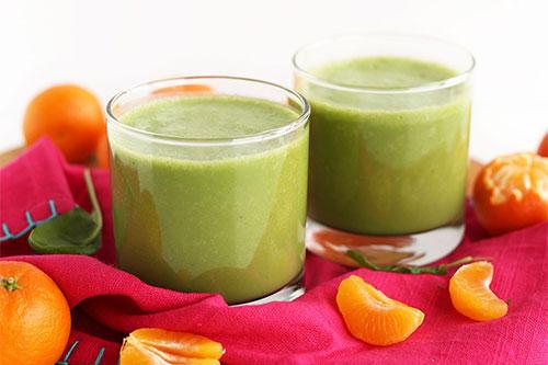 5-Ingredient-Coconut-Clementine-Smoothie-vegan-glutenfree