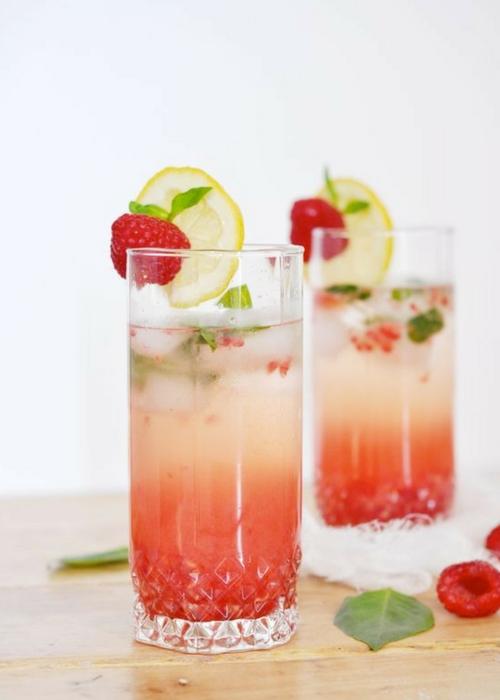 Raspberry Basil