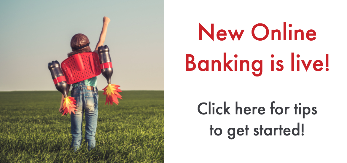 Our new online banking system is live!