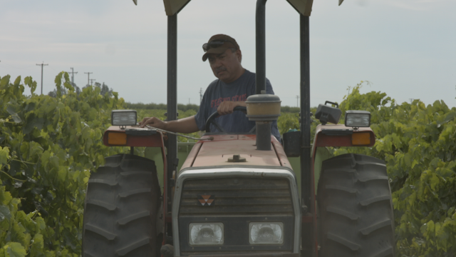 A man's tractor breaks down while driving thumbnail