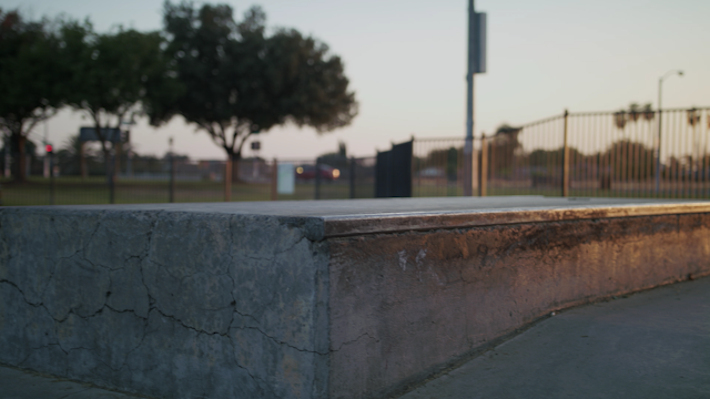 A skater grinds on a concrete block thumbnail
