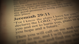 Jeremiah 29:11 bible verse thumbnail