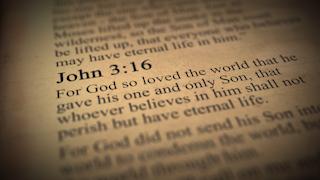 John 3:16 bible verse thumbnail