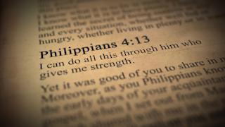 Philippians 4:13 bible verse thumbnail