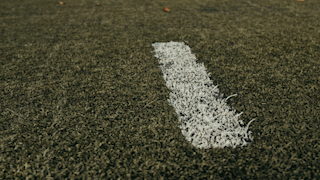 Hash marks on a football field thumbnail