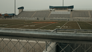 A football field at a high school thumbnail