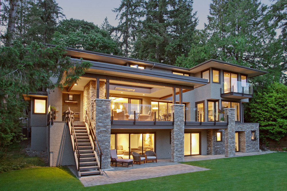 Modern home West Vancouver, Architecture Marketing Photographer