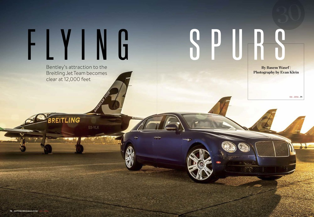 Automobile Magazine Brietling Bentley