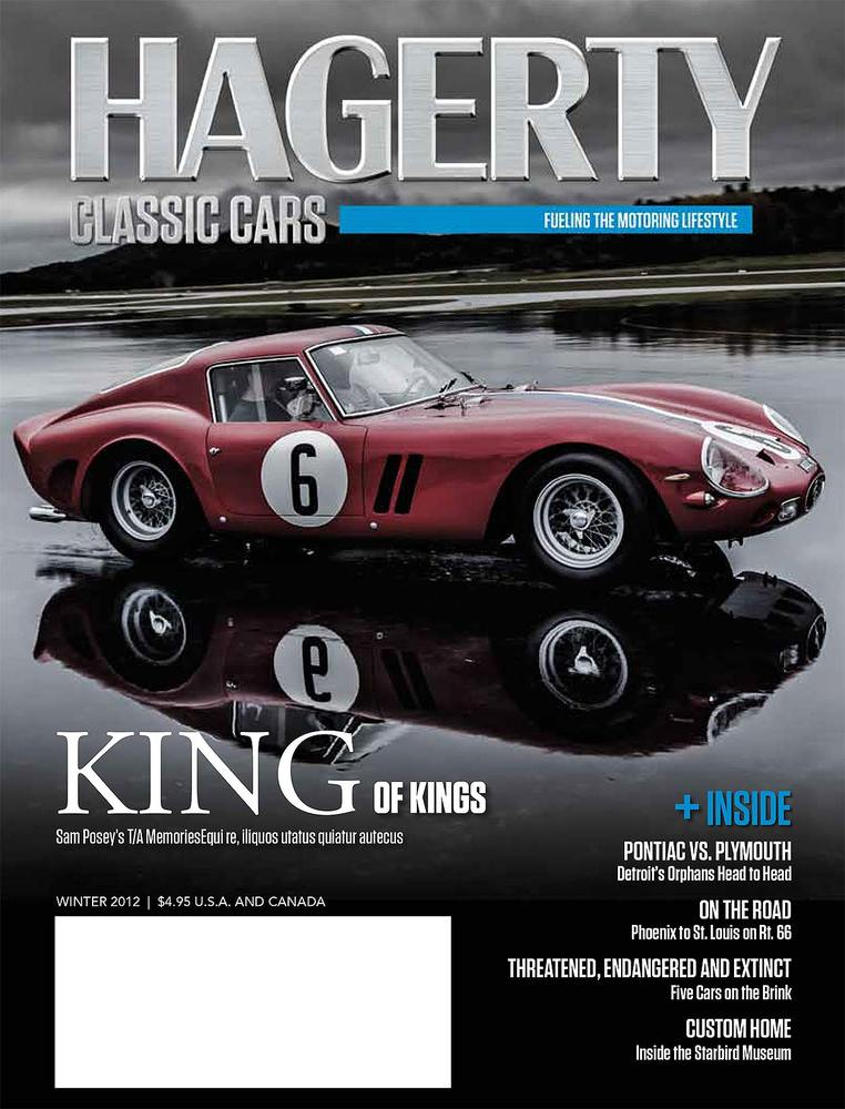 Cover, 250 GTO, Automotive Photography, Evan Klein