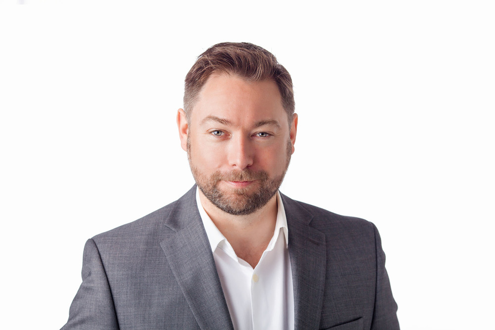 Modern Executive Portrait for Chevron Canada