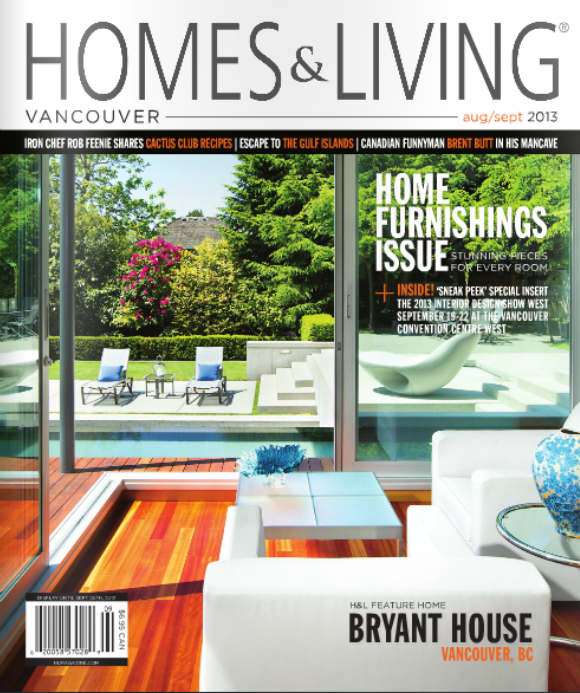 Home And Living Magazine jim c brown