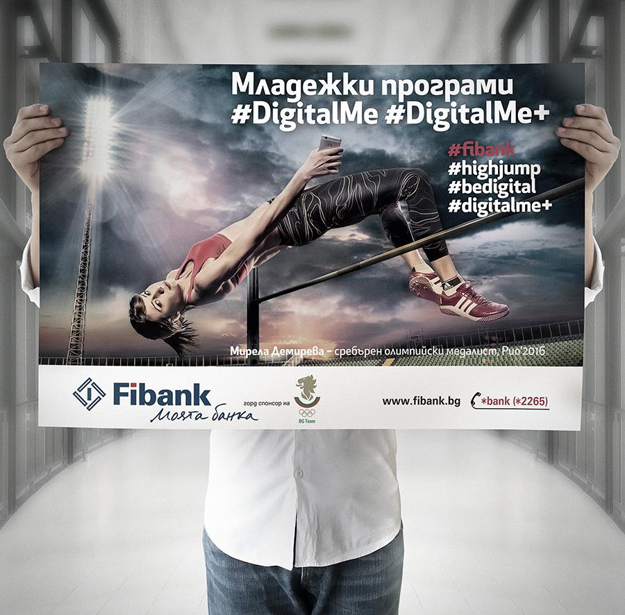 Olympic vice-champion in the high jump Mirela Demireva for Fibank