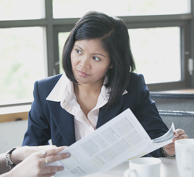 Candid Corporate Portrait, Asian Woman, Location Setting, Candid Portrait, Stantec Corporation Toronto