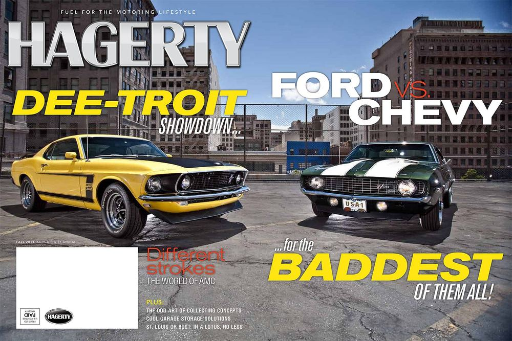 Automotive Photography Evan Klein Camaro vs Mustand